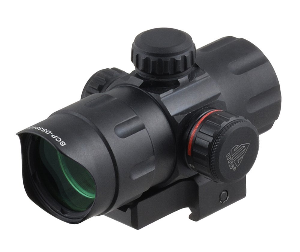 UTG 4.0 ITA Red-Green Dot Sight with Riser Adaptor
