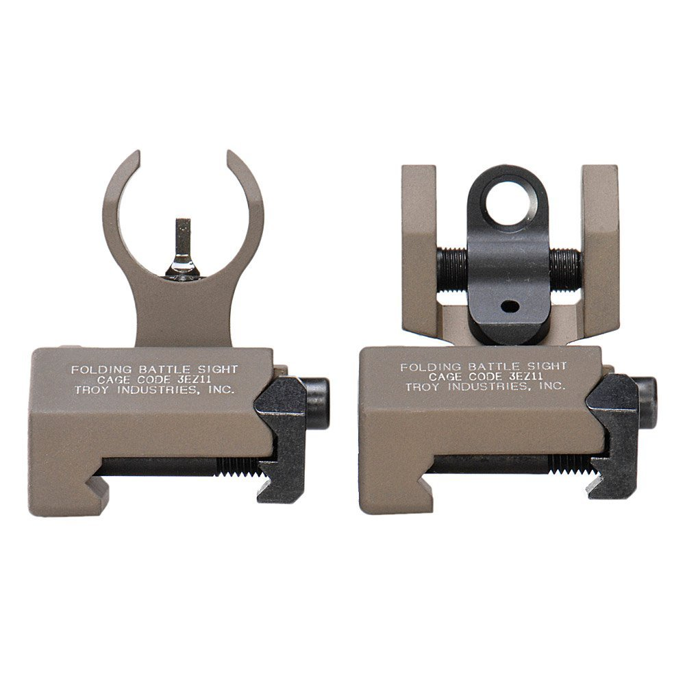 Troy Industries Micro HK Style Front and Rear Folding Battle Sight2