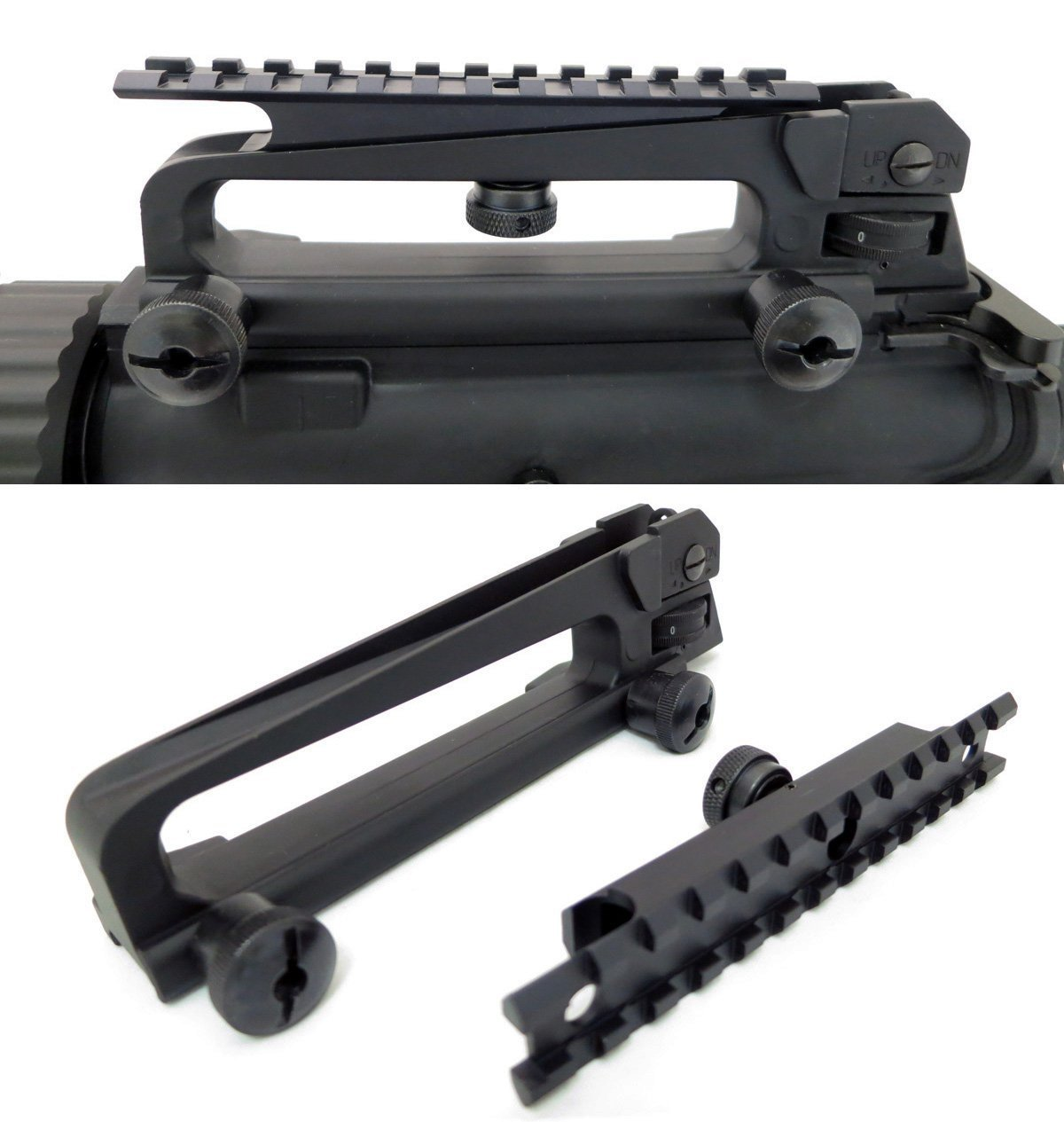 Ar 15 Detachable Carry Handle With Rail Mount Package Review