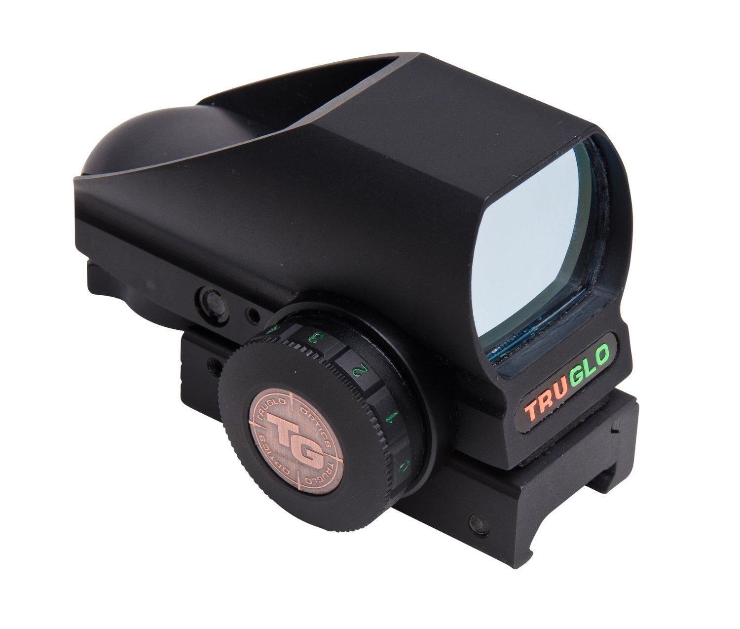 Truglo Red-Dot Tru-Brite Open-Dot Multi Blk Box