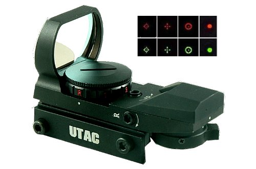 UTAC tactical 4 reticle scope