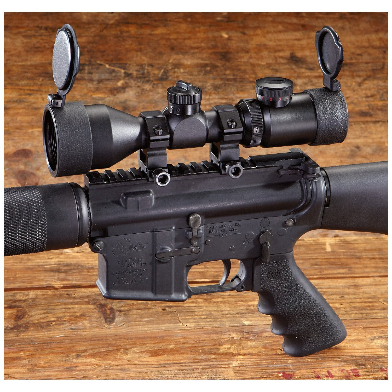Hammers 3-9 x 42mm AR-15 Scope Matte Black