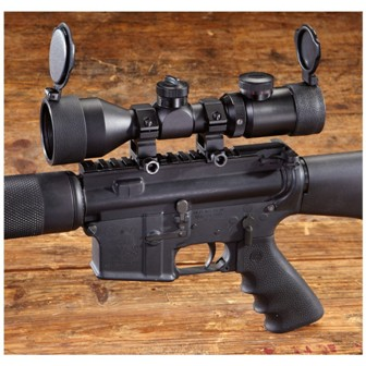 Hammers 3 9 X 42mm Ar 15 Scope Matte Black Review