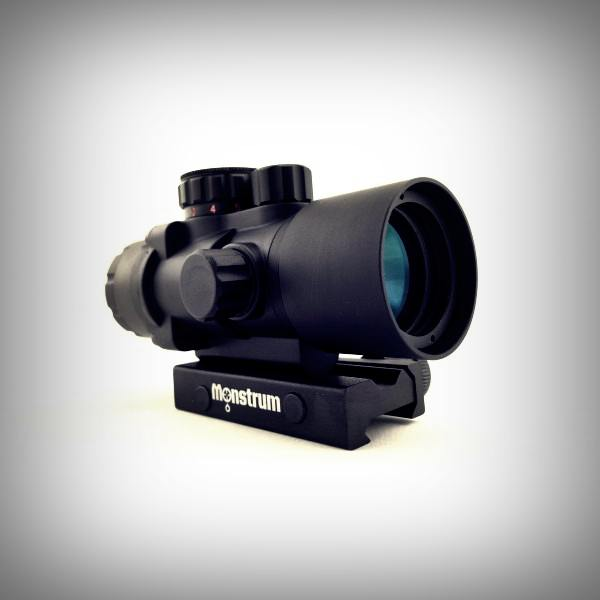 Monstrum Tactical S330P 3x Ultra-Compact Prism Scope