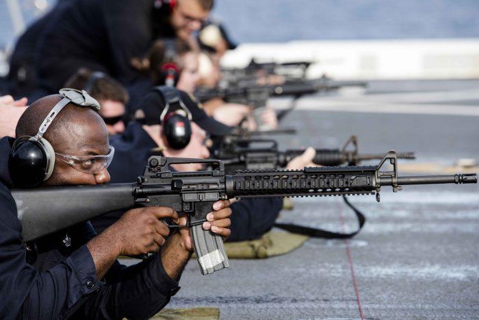 4 standard rifle shooting positions