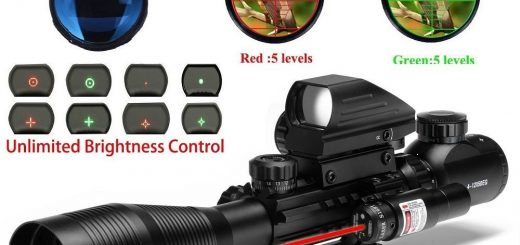 UUQ C4-12X50 Rifle Scope Review